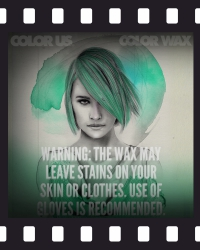COLOR WAX - Instructions: long hair - 5