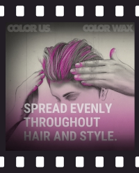 COLOR WAX - Instructions: short hair - 4